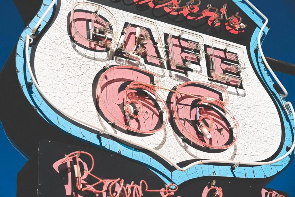 Image of Cafe-66-Neon-Sign