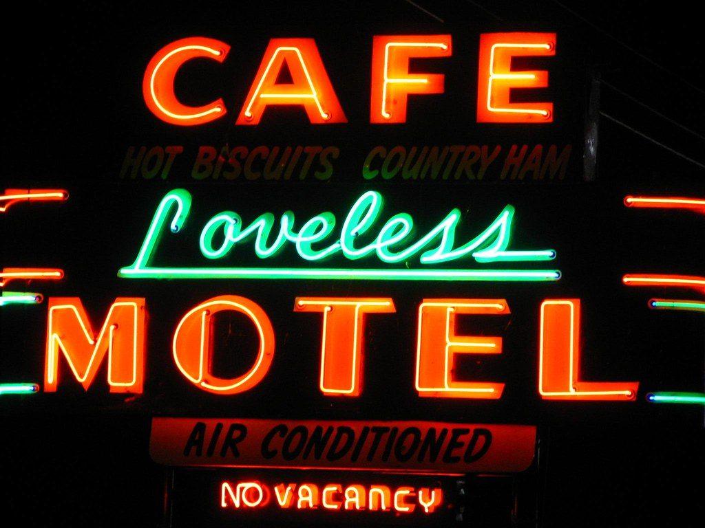 Image of Loveless Cafe Neon Sign