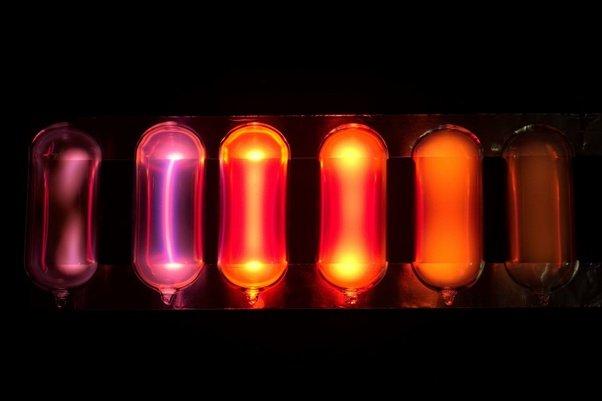 Image of neon gas tube
