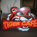 Image of Tiger Cafe Channel Letters