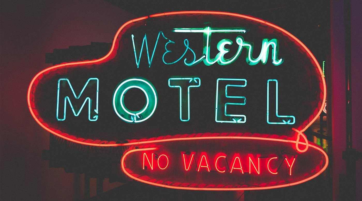 Image of Western-Motel-Neon-Sign