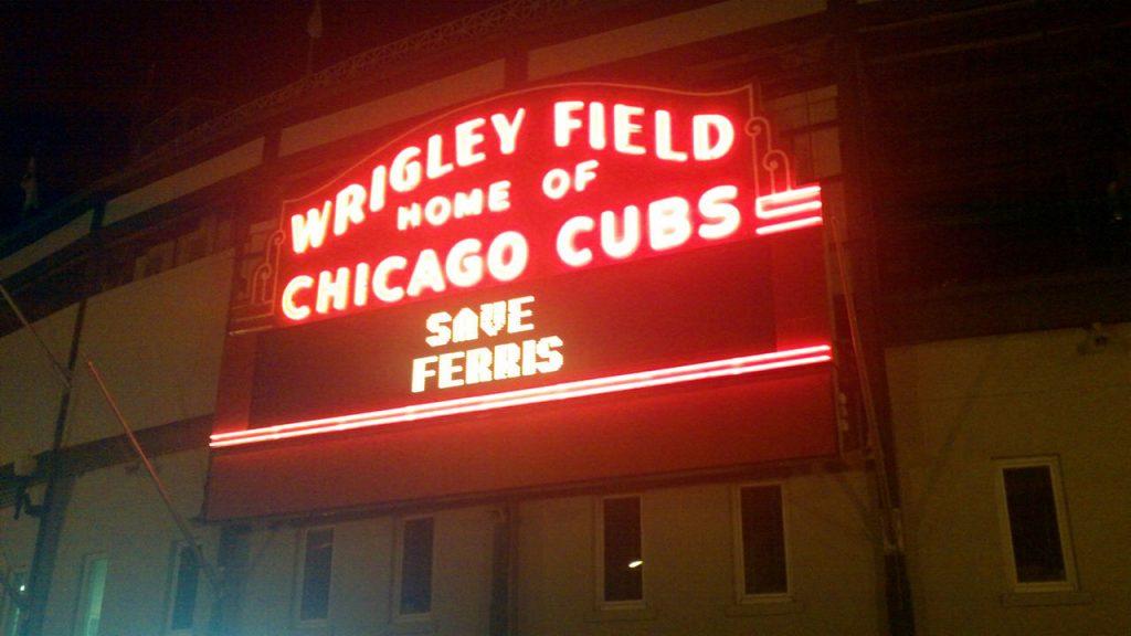 Image of Wrigley Neon Sign