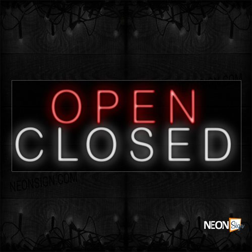 Image of Open/Closed Neon Sign