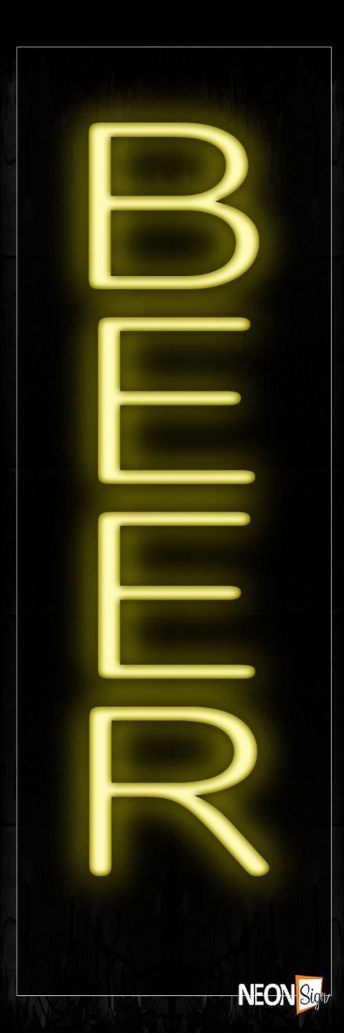 Image of Beer Neon Signs- Vertical