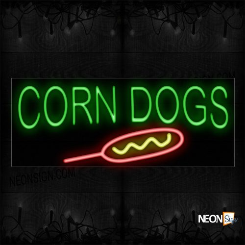 Image of 11375 Cheese Cakes Neon Sign - Vertical_13x32 Black Backing