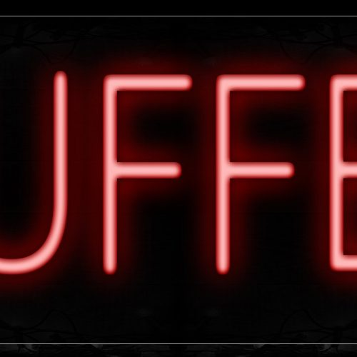 Image of 12027 Buffet Neon Signs_10x24 Black Backing