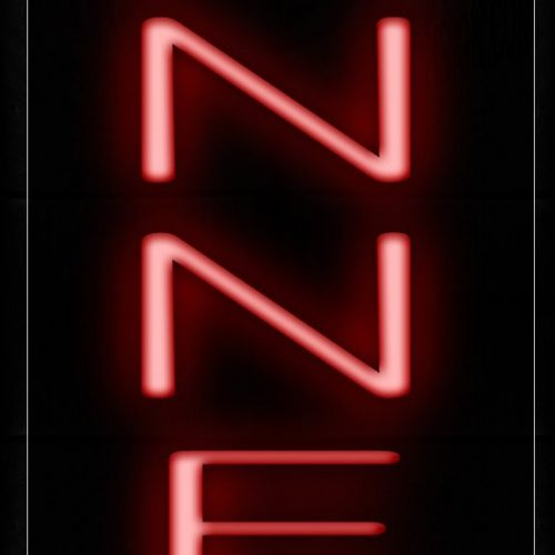 Image of 12198 Banners Neon Signs_8x24 Black Backing