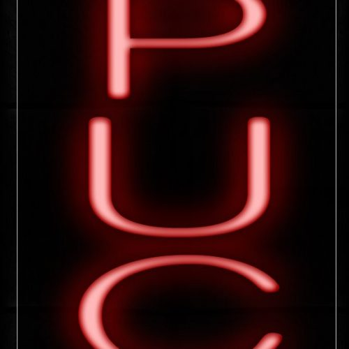 Image of 12210 Cappuccino (Vertical) Neon Signs_8x32 Black Backing