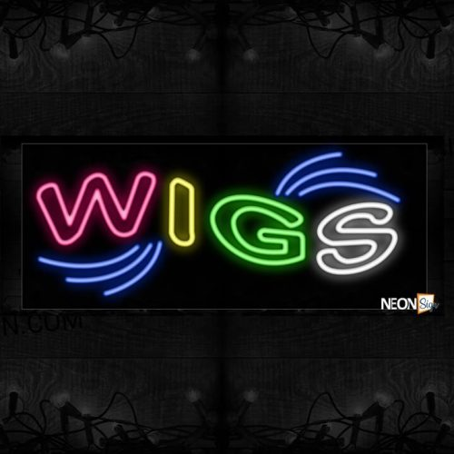 Image of Plain Wigs Neon Sign