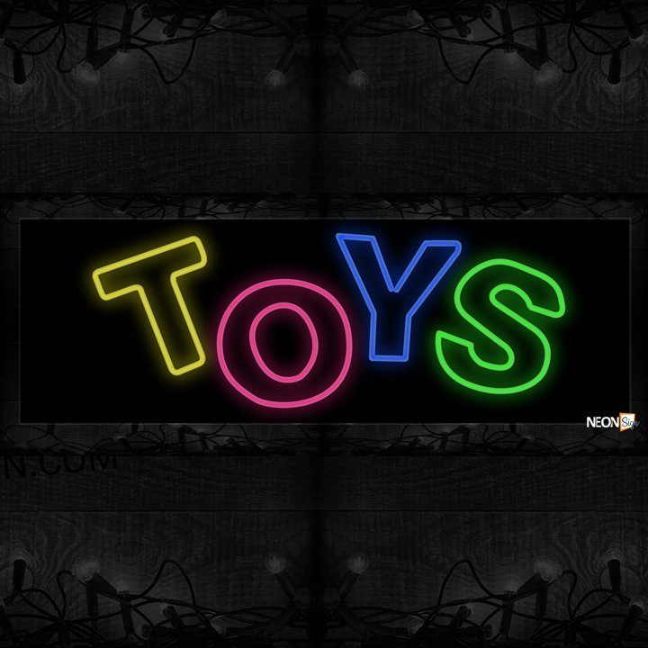Image of Toys double stroke Neon Sign