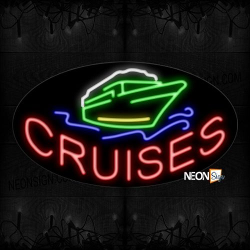 Image of Cruises Contoured Neon Sign