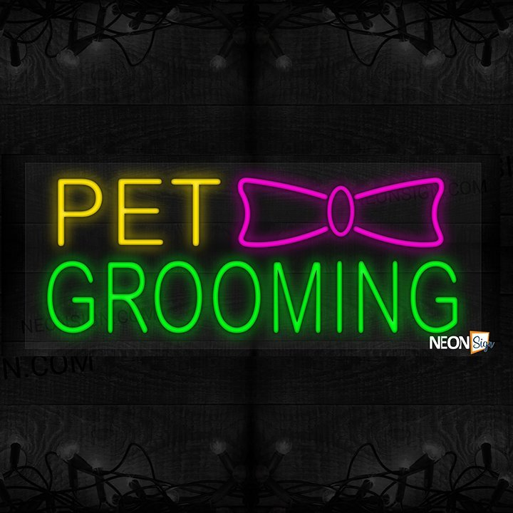 Image of Pet Grooming with ribbon LED Flex
