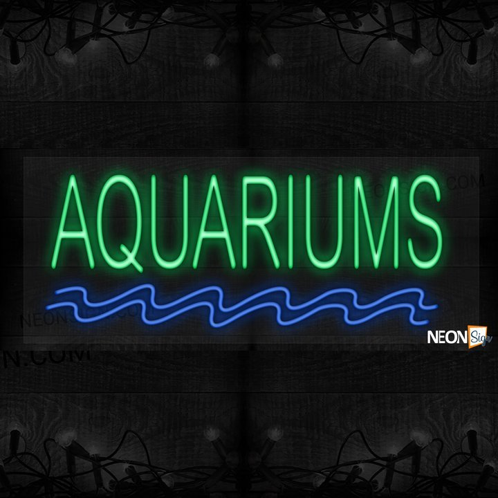 Image of Aquariums with blue wave LED Flex