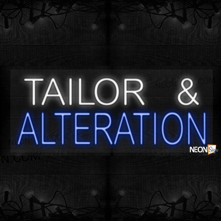 Image of Tailor and Alteration LED Flex