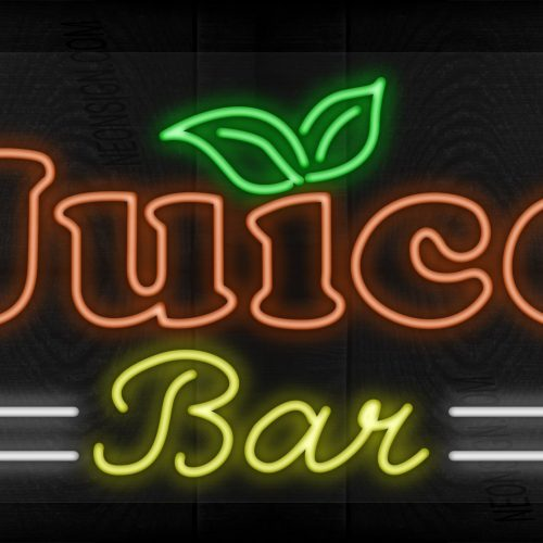 Image of Juice Bar with 2 white lines LED Flex