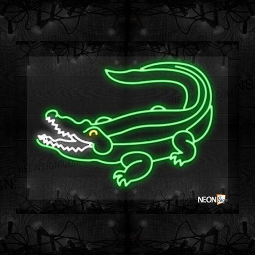 Image of Crocodile logo LED Flex