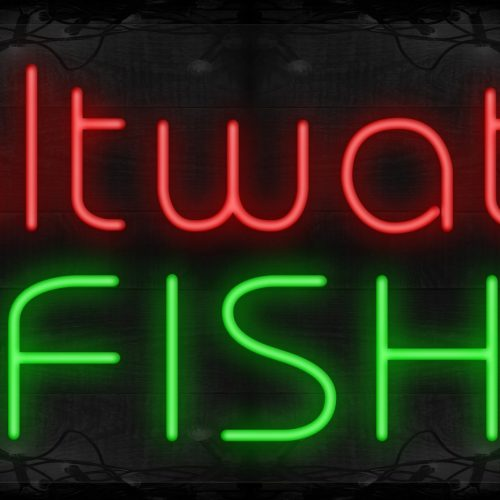 Image of Saltwater Fish with Blue Waves LED Flex