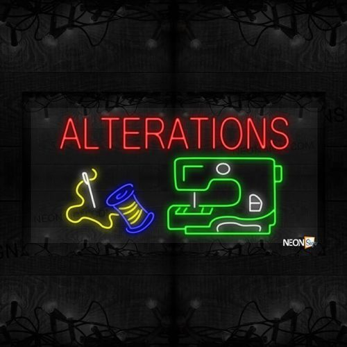 Image of Alterations with Sewing Machine LED Flex