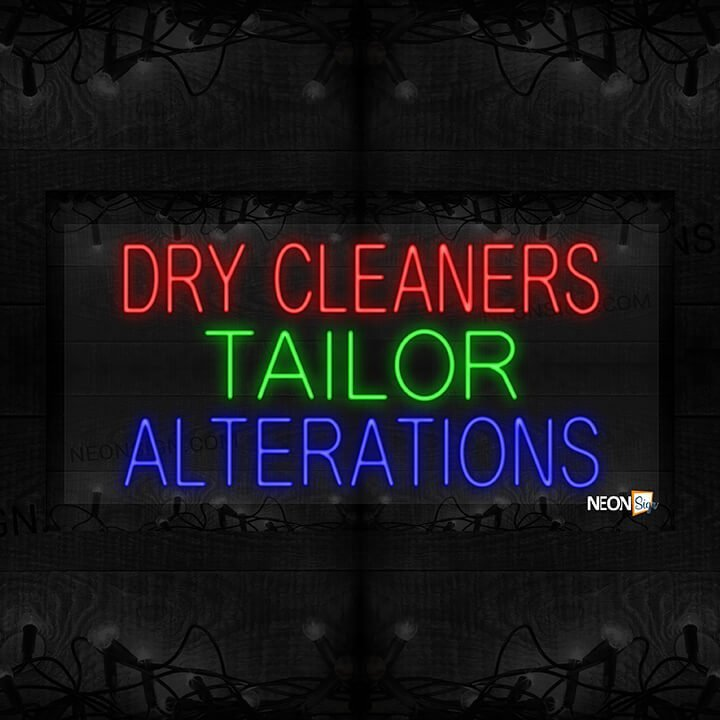 Image of Dry Cleanerss Tailor Alterations LED Flex