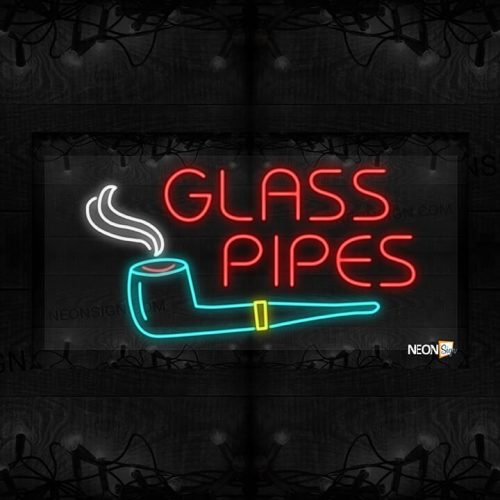 Image of Glass Pipes with a Pipe LED Flex