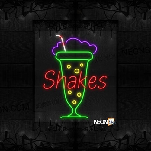 Image of Shakes in front of a Glass of Shake LED Flex