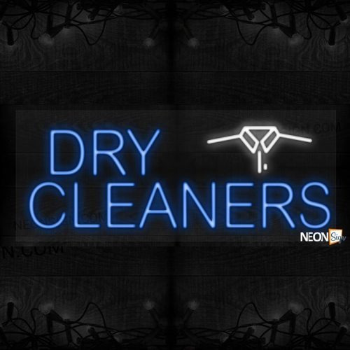Image of Dry-Cleaners with logo LED Flex